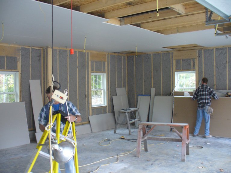 2006 House Addition - Drywall: Prep, Delivery and Installation